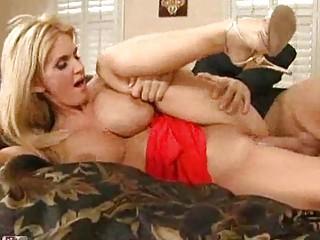 Tasty Blonde MILF with Big Boobs Gets Fucked