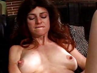Horny MILF masturbates