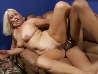Bigtits granny bent over and screwed doggystyle