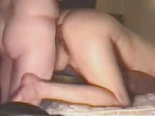 Mature first anal