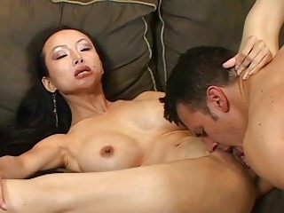 Asina Milf wants to feel hard cock in her pussy