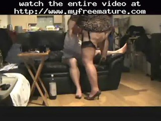 PlumperTy In Sexy Lingerie Fucked From Behind
