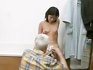 Grandpa and Young Girl