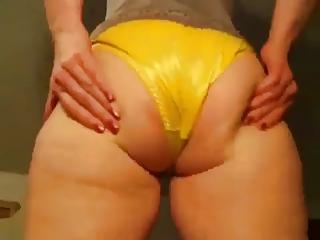 Wife In Satin Panties